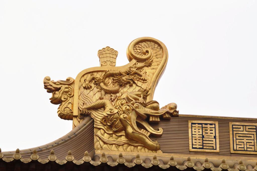 буддистский храм Jing'An Temple
