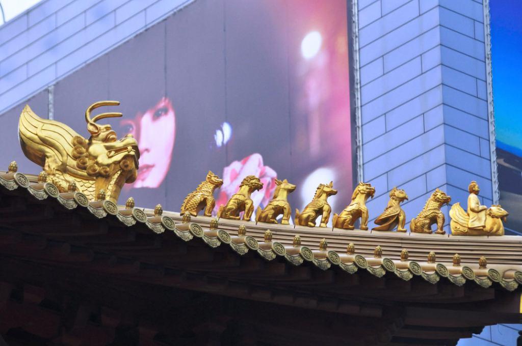 Jing'An Temple в Шанхае