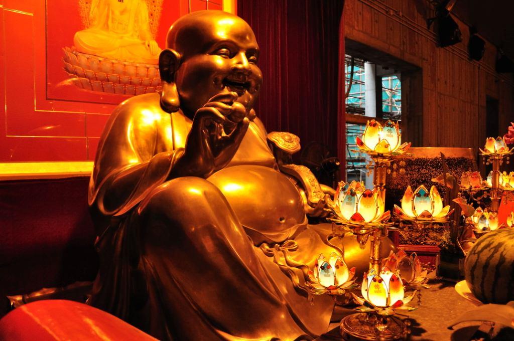 Будда в Jing'An Temple