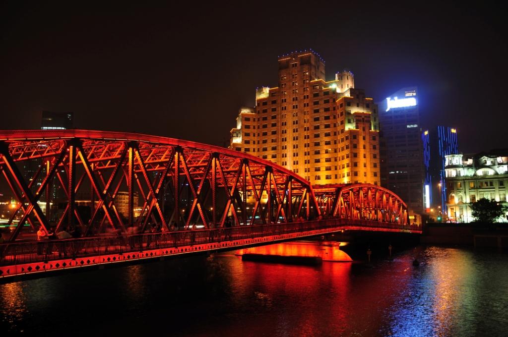 Waibaidu Bridge - мост в историю