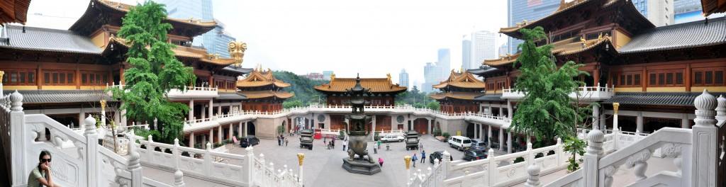 Jing'An Temple - буддистский храм в центре Шанхая