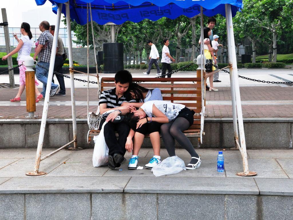 в Century Park Шанхай