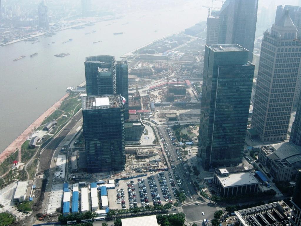 Шанхай Восточная жемчужина
