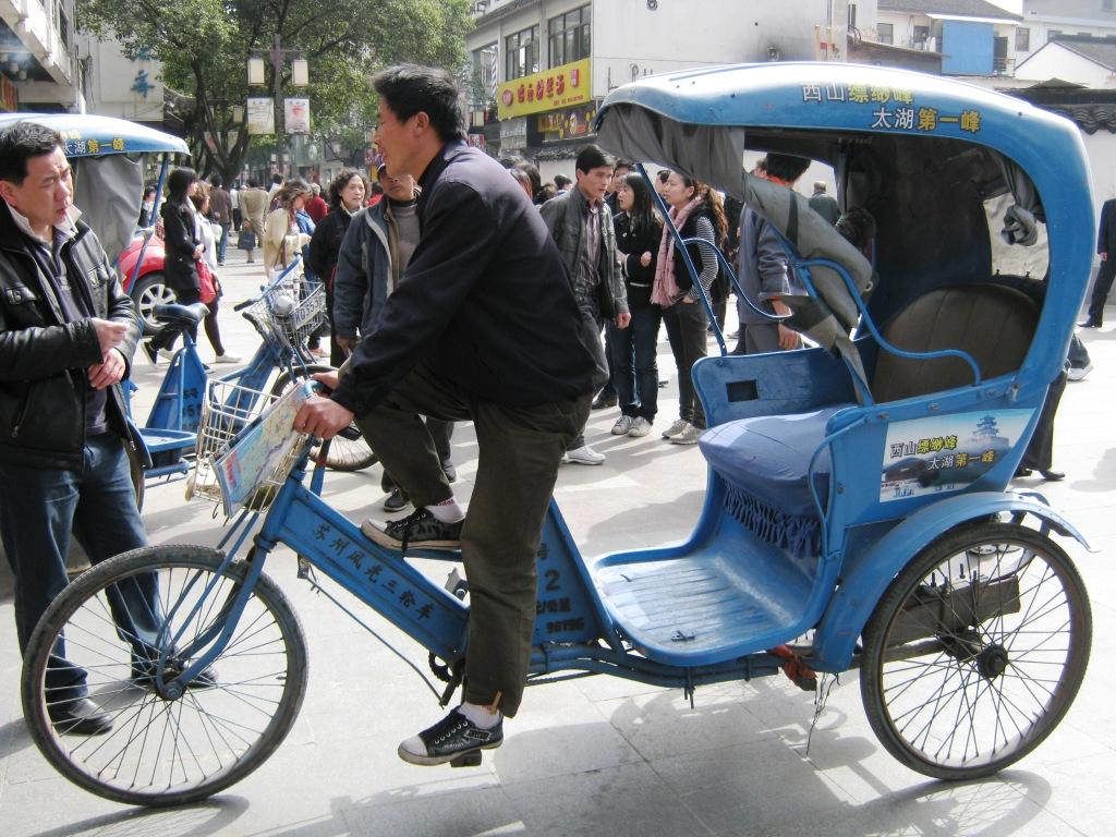 Городской рикша Сучжоу
