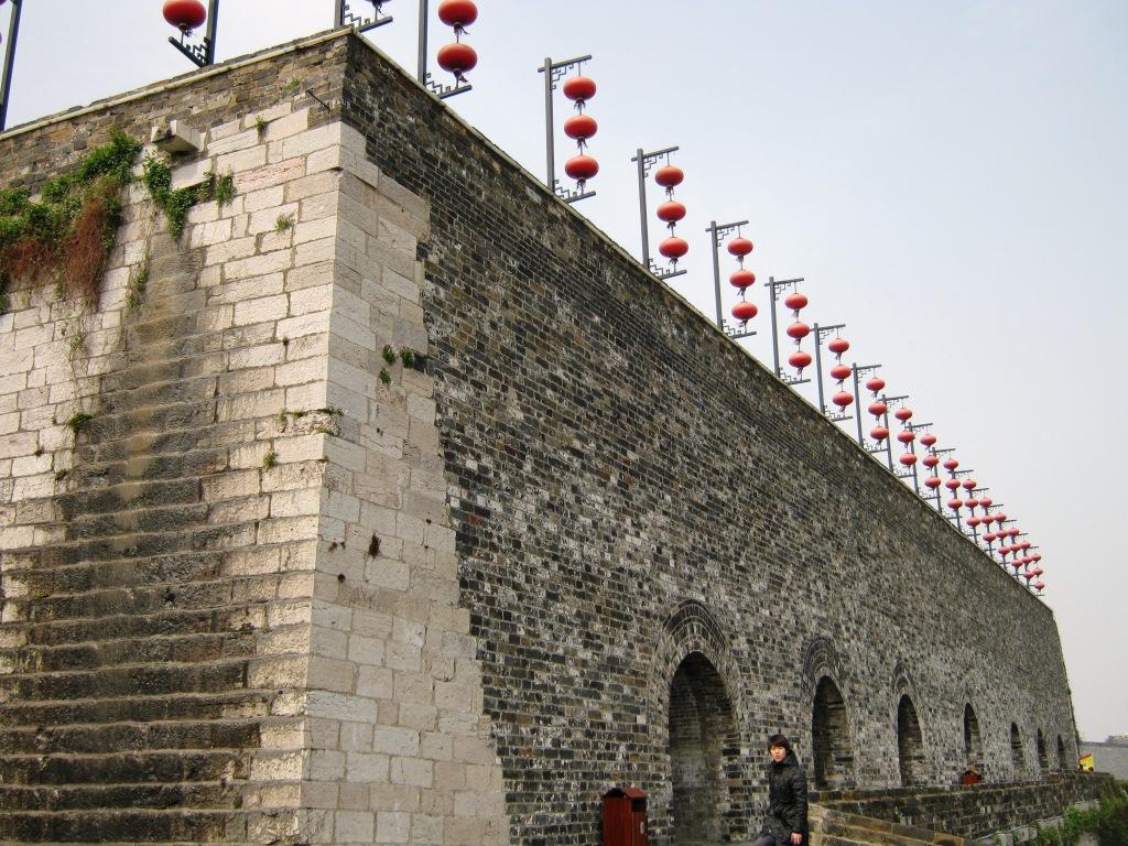 Городская стена Нанкина