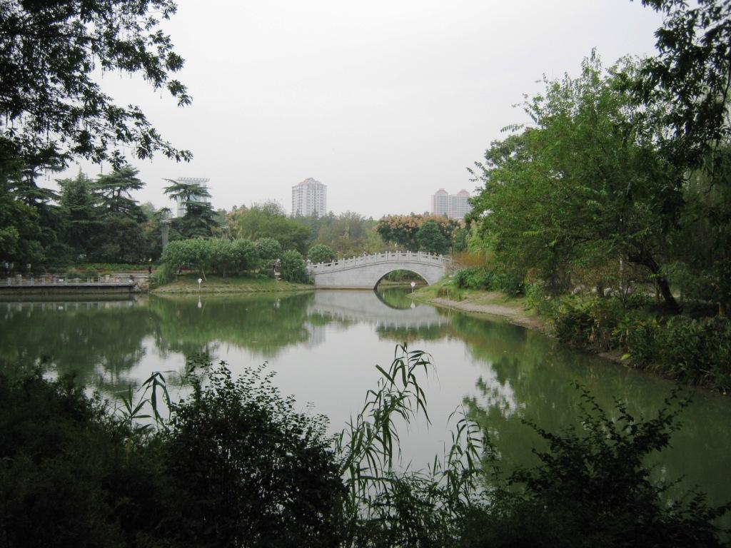 Городской парк Ухань