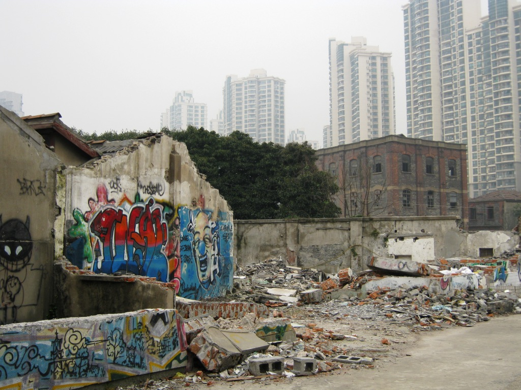 На задворках арт-квартала М50 в Шанхае