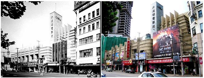 Другой шедевр Худека (1931-1933) - The Grand Theatre, сегодня известный как Grand Cinema. Как на Западе, так и в Шанхае 30-е годы были золотым веком кинематографа