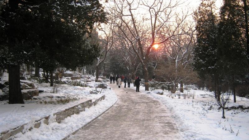 Jingshan (景山, Jǐngshān) – это искусственный холм в Пекине, бывший когда-то частью Запретного Города. Сегодня это любимое место отдыха для многих пекинцев.