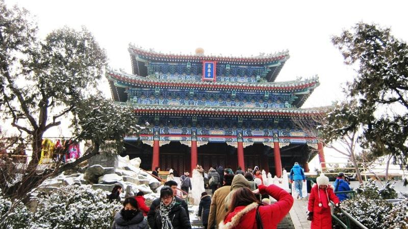 Общественный парк Jingshan Park (景山公园)
