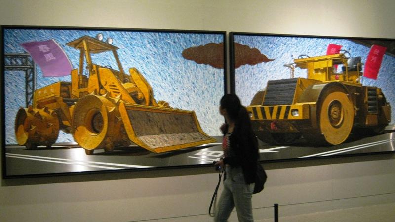 Китайская Национальная Арт-Галерея (The China National Art Gallery, или Meishuguan) поразит смелых посетителей крупнейшей в стране коллекцией работ китайского современного искусства