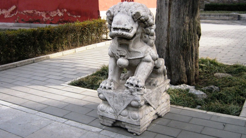 Tian'an Men Dong, Dong Cheng Qu, прямо у стен Запретного Города