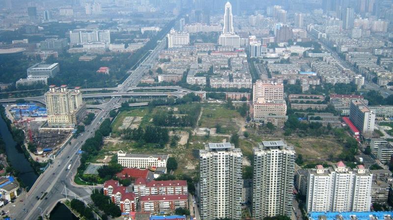 Тяньцзинь. Вид с телебашни